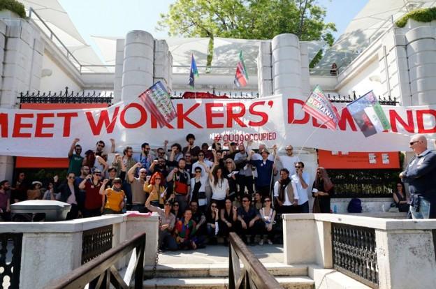 Guggenheim in Venice is occupied