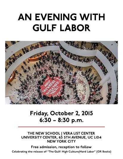 Evening with Gulf Labor