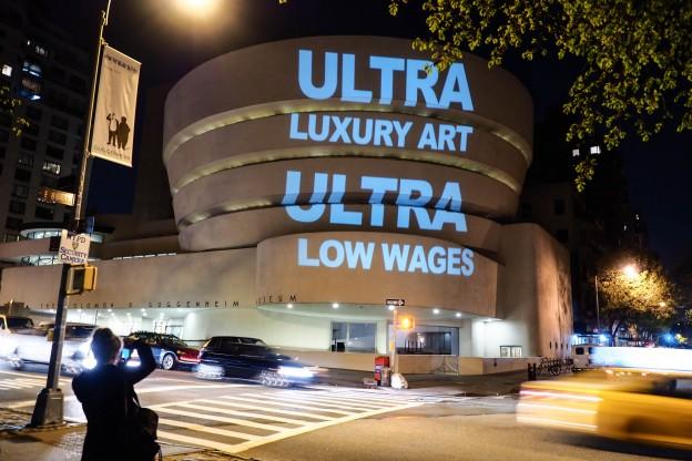 Protests After Guggenheim Ends Negotiations